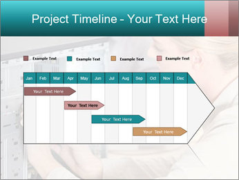 Technician repairing PowerPoint Templates - Slide 25