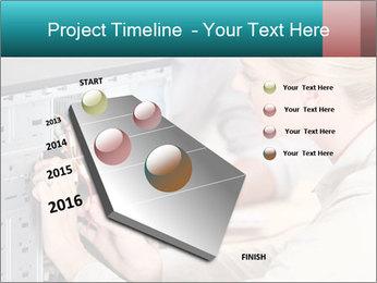 Technician repairing PowerPoint Templates - Slide 26