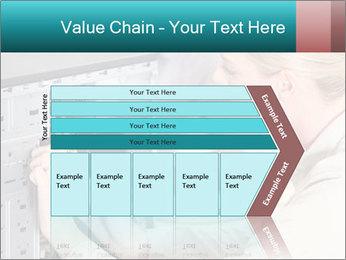 Technician repairing PowerPoint Templates - Slide 27