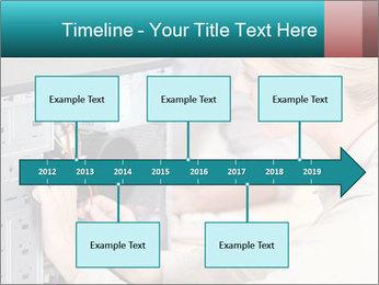 Technician repairing PowerPoint Templates - Slide 28