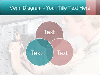 Technician repairing PowerPoint Templates - Slide 33