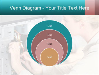 Technician repairing PowerPoint Templates - Slide 34