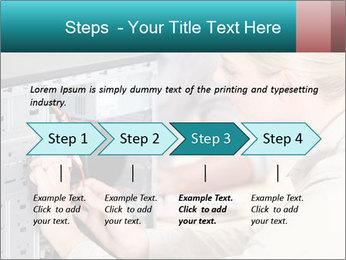 Technician repairing PowerPoint Templates - Slide 4