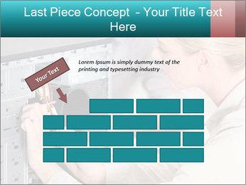 Technician repairing PowerPoint Templates - Slide 46