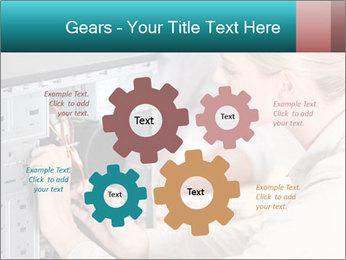 Technician repairing PowerPoint Templates - Slide 47