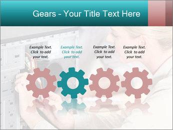 Technician repairing PowerPoint Templates - Slide 48