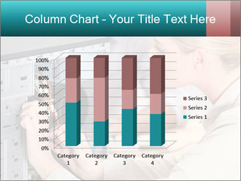 Technician repairing PowerPoint Templates - Slide 50