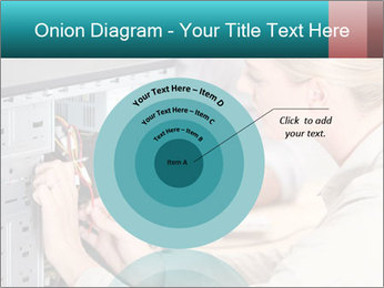 Technician repairing PowerPoint Templates - Slide 61
