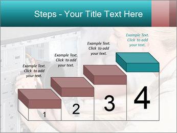 Technician repairing PowerPoint Templates - Slide 64