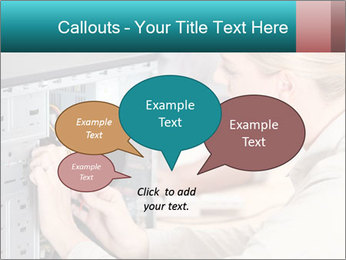 Technician repairing PowerPoint Templates - Slide 73