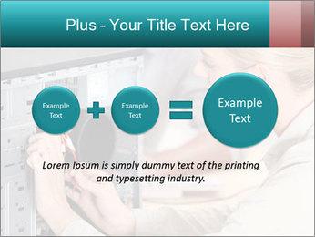Technician repairing PowerPoint Templates - Slide 75