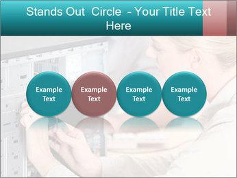 Technician repairing PowerPoint Templates - Slide 76