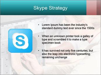 Technician repairing PowerPoint Templates - Slide 8