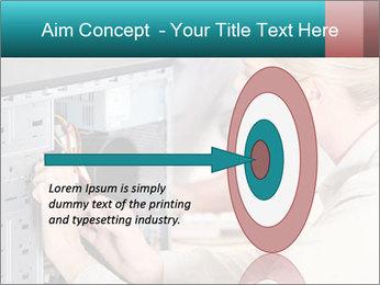Technician repairing PowerPoint Templates - Slide 83
