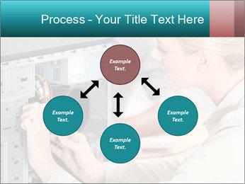 Technician repairing PowerPoint Templates - Slide 91