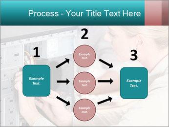 Technician repairing PowerPoint Templates - Slide 92
