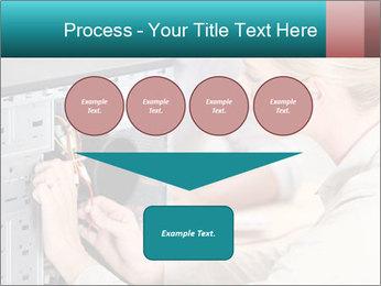 Technician repairing PowerPoint Templates - Slide 93