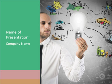 Concept of new idea PowerPoint Templates