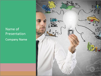 Concept of new idea PowerPoint Templates - Slide 1