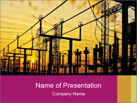 Impression network PowerPoint Templates