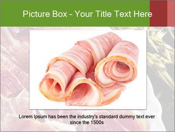 Spanish pata negra ham PowerPoint Template - Slide 15