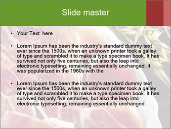 Spanish pata negra ham PowerPoint Templates - Slide 2