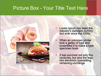 Spanish pata negra ham PowerPoint Templates - Slide 20