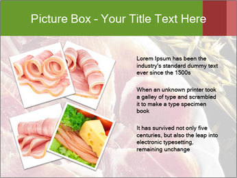 Spanish pata negra ham PowerPoint Templates - Slide 23