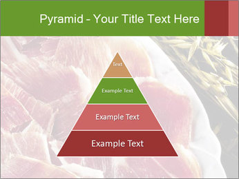 Spanish pata negra ham PowerPoint Templates - Slide 30