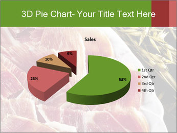Spanish pata negra ham PowerPoint Templates - Slide 35