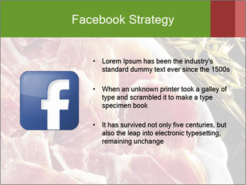 Spanish pata negra ham PowerPoint Templates - Slide 6