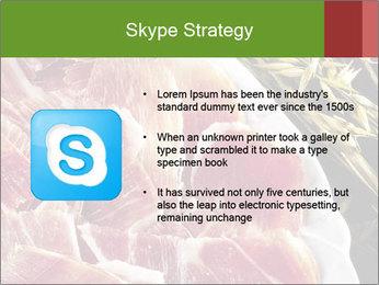 Spanish pata negra ham PowerPoint Template - Slide 8