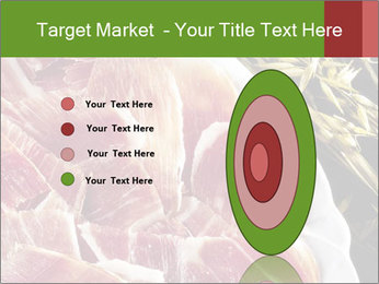 Spanish pata negra ham PowerPoint Templates - Slide 84