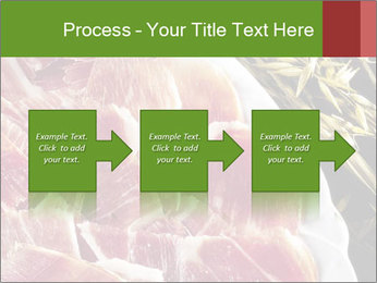Spanish pata negra ham PowerPoint Templates - Slide 88
