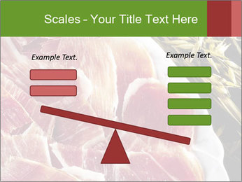 Spanish pata negra ham PowerPoint Templates - Slide 89