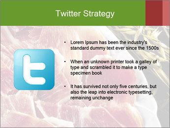 Spanish pata negra ham PowerPoint Templates - Slide 9