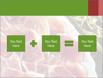 Spanish pata negra ham PowerPoint Templates - Slide 95
