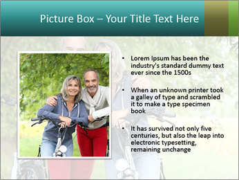 Cheerful senior couple PowerPoint Templates - Slide 13