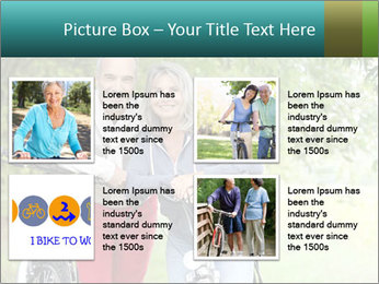 Cheerful senior couple PowerPoint Templates - Slide 14