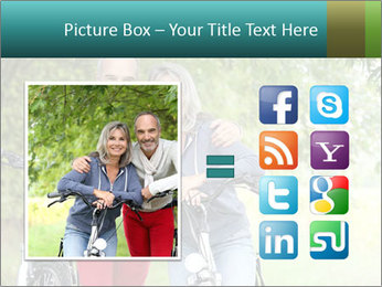 Cheerful senior couple PowerPoint Templates - Slide 21