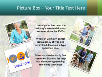 Cheerful senior couple PowerPoint Templates - Slide 24
