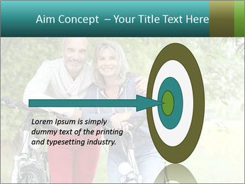 Cheerful senior couple PowerPoint Templates - Slide 83
