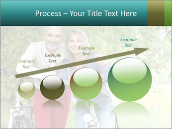 Cheerful senior couple PowerPoint Templates - Slide 87