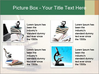 Vintage microscope PowerPoint Template - Slide 14