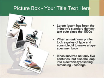 Vintage microscope PowerPoint Template - Slide 17