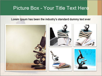 Vintage microscope PowerPoint Template - Slide 19