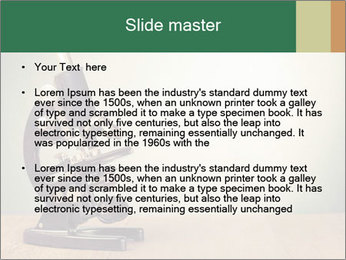Vintage microscope PowerPoint Template - Slide 2