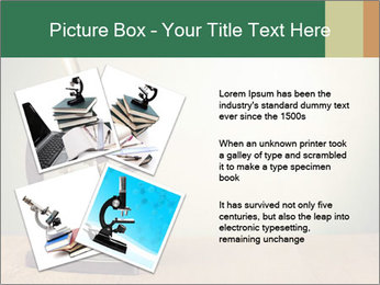 Vintage microscope PowerPoint Template - Slide 23