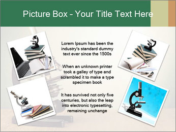 Vintage microscope PowerPoint Template - Slide 24