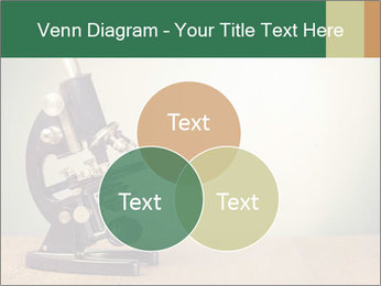 Vintage microscope PowerPoint Template - Slide 33